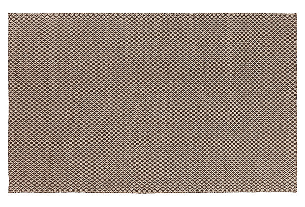 Crown Flat-Weave Rug, Espresso