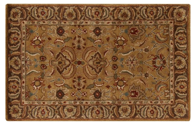 Tamarack Rug, Wheat/Chocolate
