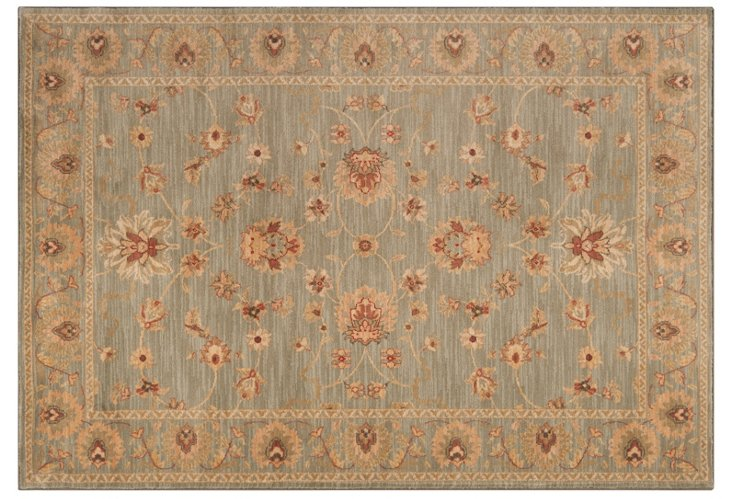 "5'3""x7'8"" Axel Rug, Lily Pad/Beige"