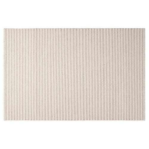 Flora Flat-Weave Rug, Gray
