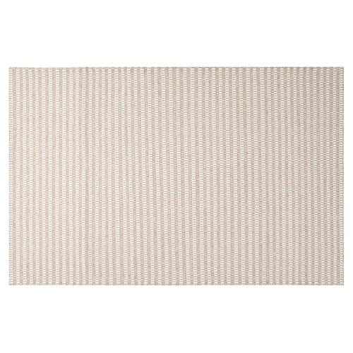 Flora Flat-Weave Rug, Gray