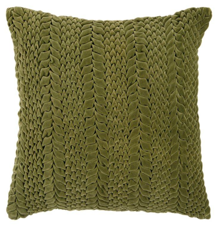 Exotic 18x18 Pillow, Avocado