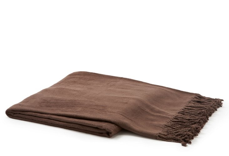 Tian Throw, Brown