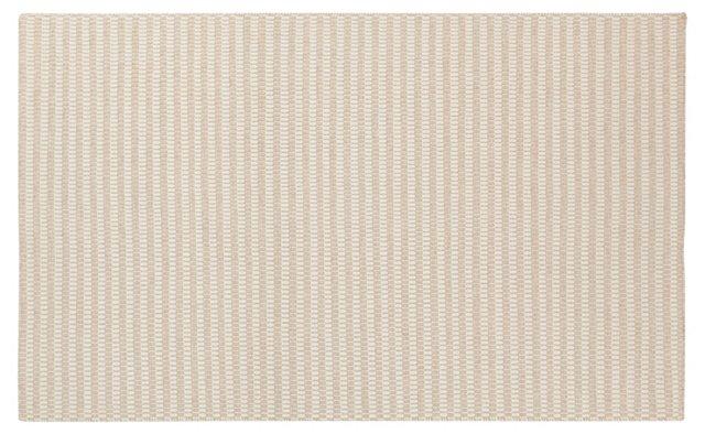 Flora Flat-Weave Rug, Sand