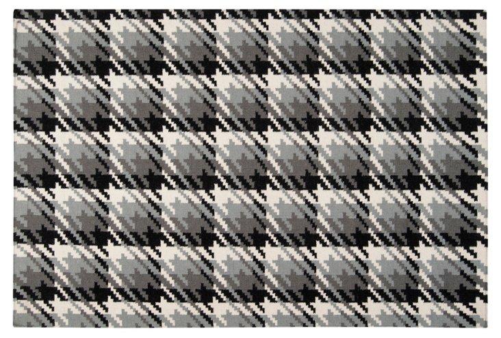 Areni Flat-Weave Rug, Gray