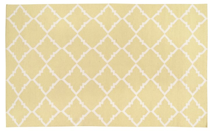 Athena Rug, Butter/Cream
