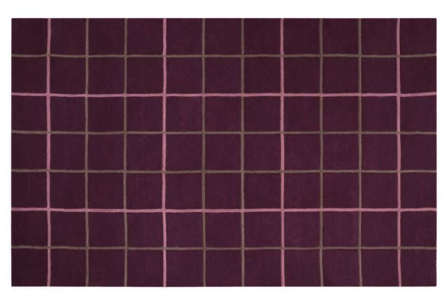 Lemwood Rug, Prune Purple