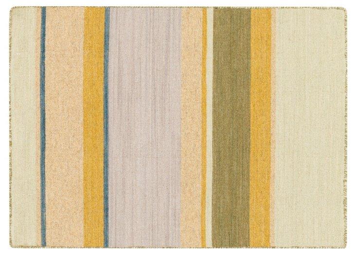 Sasha Flat-Weave Rug, Khaki