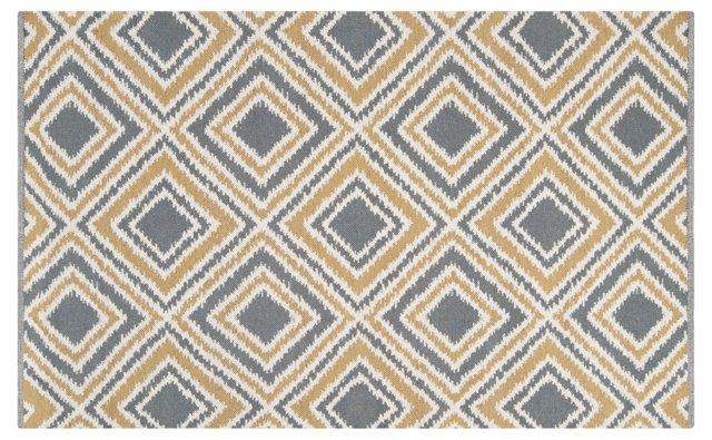 Clovis Flat-Weave Rug, Cumin