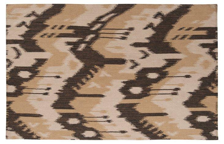 Sam Flat-Weave Rug, Bronze/Cumin