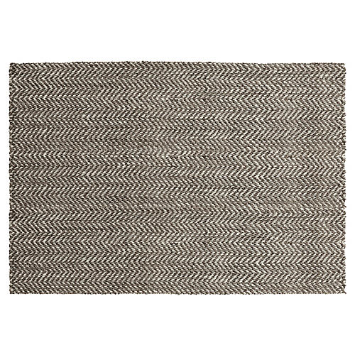 Ophion Jute Rug, Mulled Wine