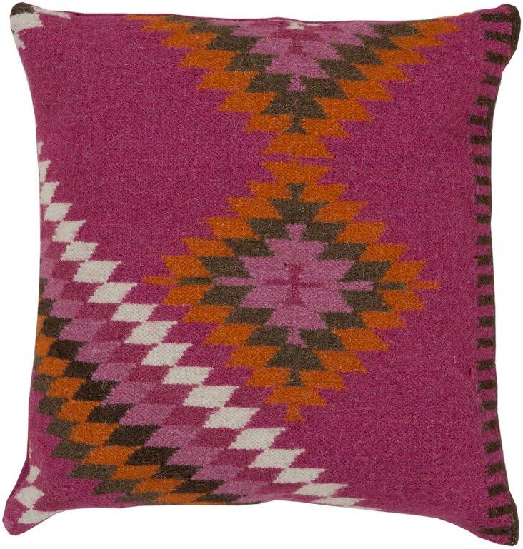 Maze Pillow, Mediterranean