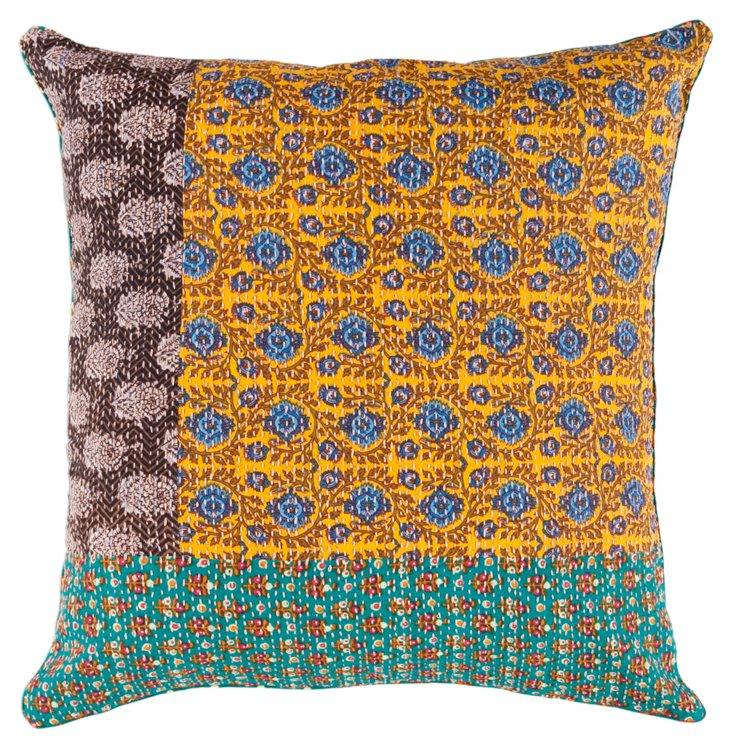 Samma 22x22 Pillow, Harvest Gold