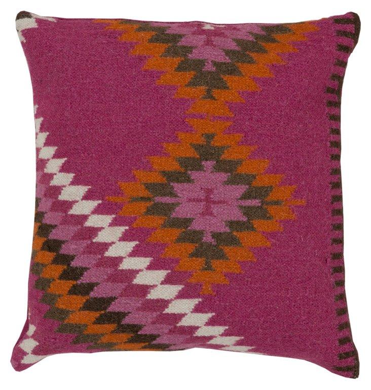 Nimah Linen Pillow, Multi