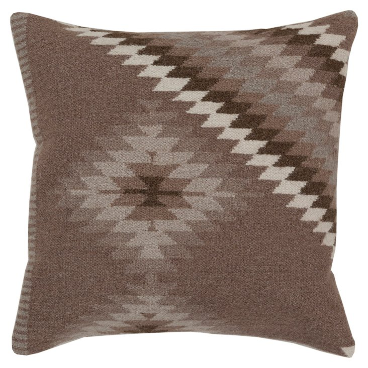 Tribal Pillow, Brown
