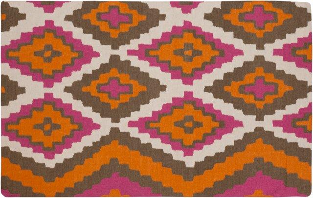 Alecto Flat-Weave Rug, Multi