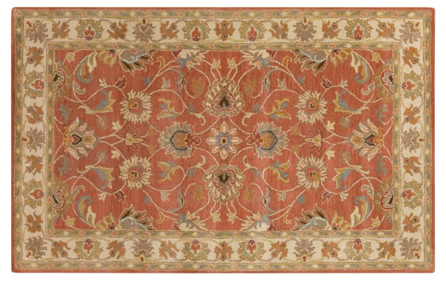 Dina Rug, Red Clay
