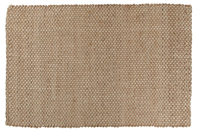 Anthony Jute Rug, Caramel