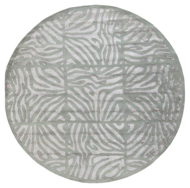 Chronos Rug, Silvered Gray