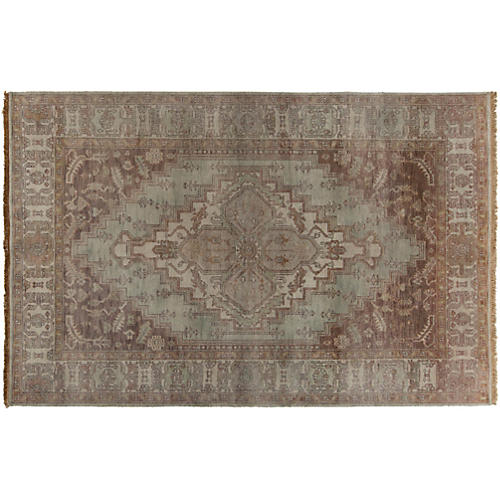 Dion Hand-Knotted Rug, Chocolate