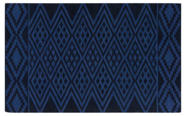 Tara Jute-Blend Rug, Blue