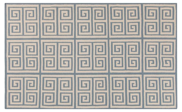 Praxis Flat-Weave Rug, Bone