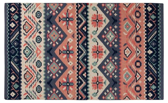 James Flat-Weave Rug, Multi