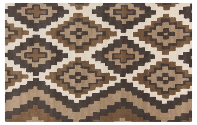 Alecto Rug, Brown