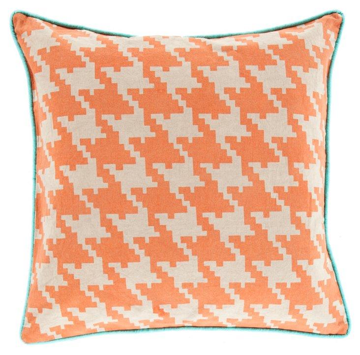 Citrus Cotton Pillow, Orange