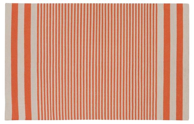 Arya Flat-Weave Rug, Orange