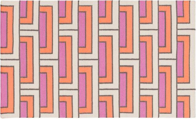 Layla Flat-Weave Rug, Multi
