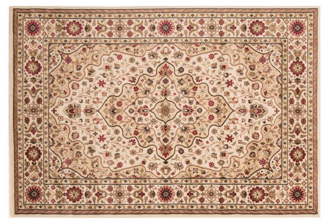 Safwa Rug, Neutral/Red
