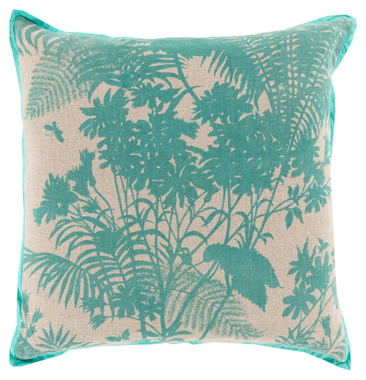 Botany 20x20 Pillow, Mint