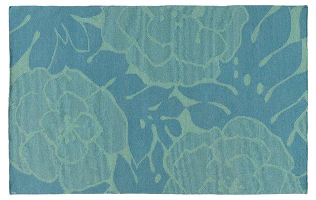 Franklin Flat-Weave Rug, Green