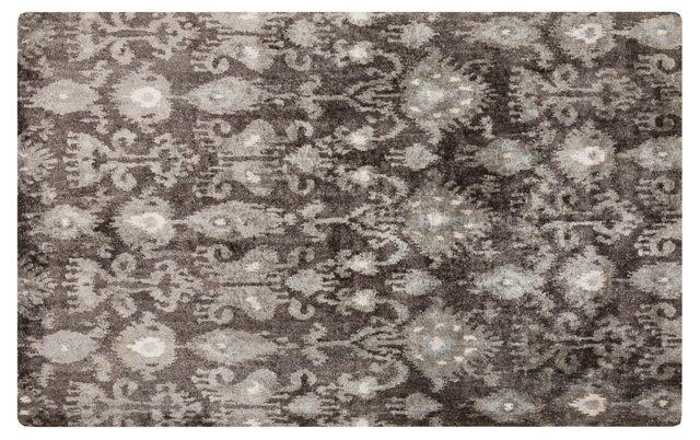 Morini Rug, Charcoal/Gray/Ivory