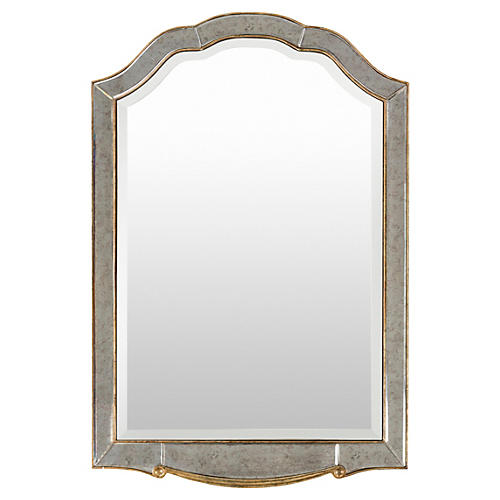 Jamie Oversize Mirror, Champagne