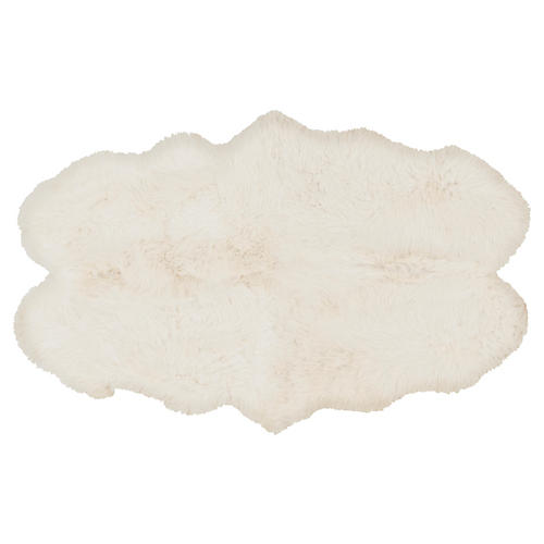 Sheepskin Rug, Ivory