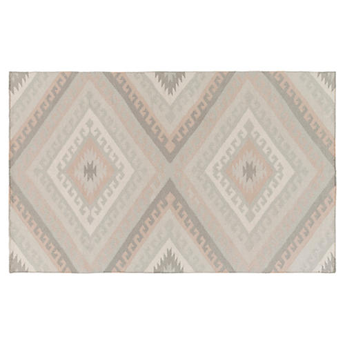 Claiborne Rug, Light Gray