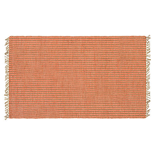 Gael Sea Grass Rug, Coral