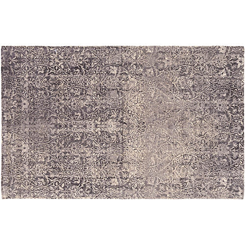 Savage Rug, Cream/Gray