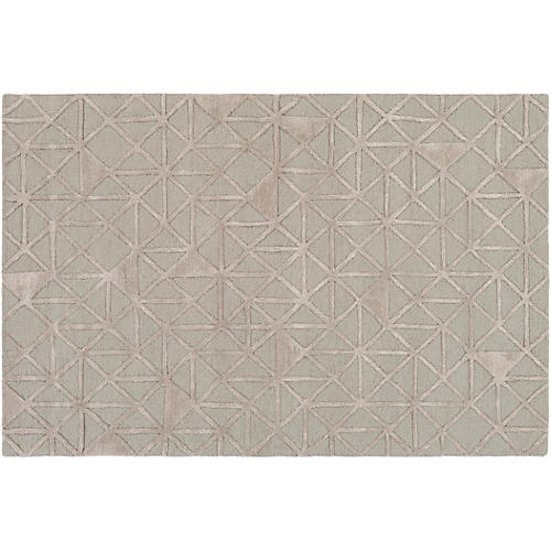 Alya Rug, Gray/Neutral