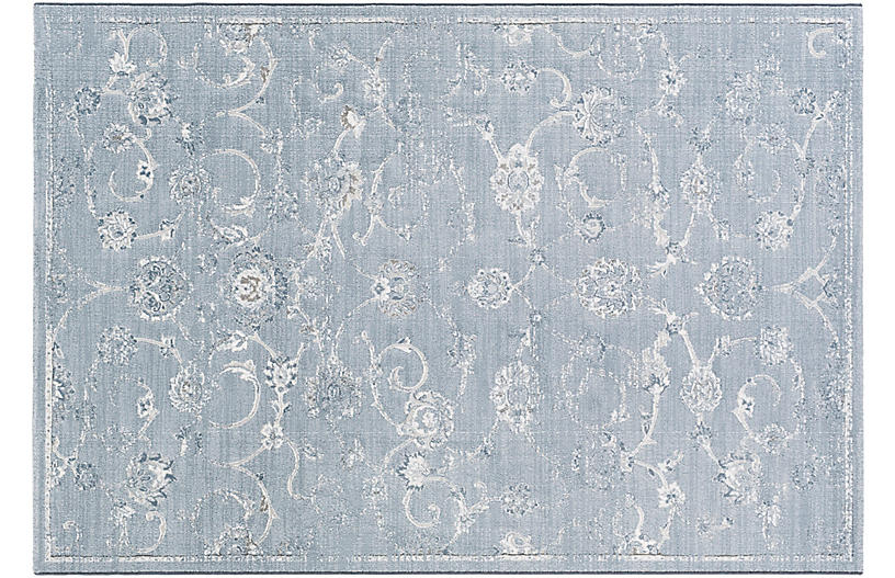 Beid Rug, White/Blue