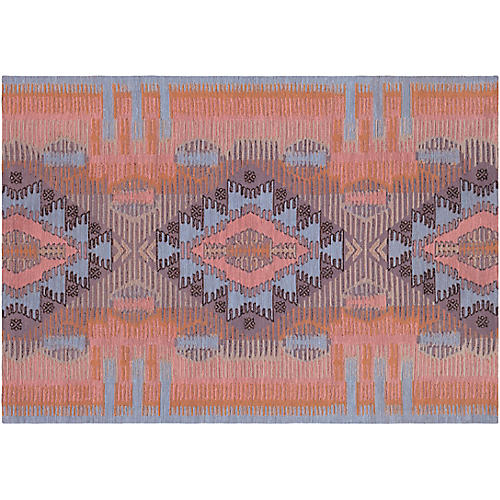 Darcus Outdoor Rug, Blush