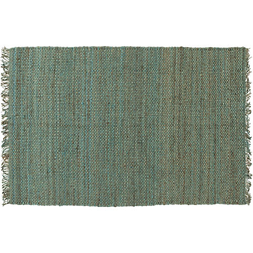 Phantom Jute Rug, Teal