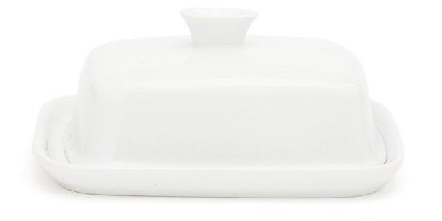 Porcelain Butter Dish