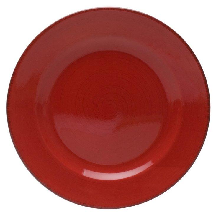 Sonoma Round Platter, Red
