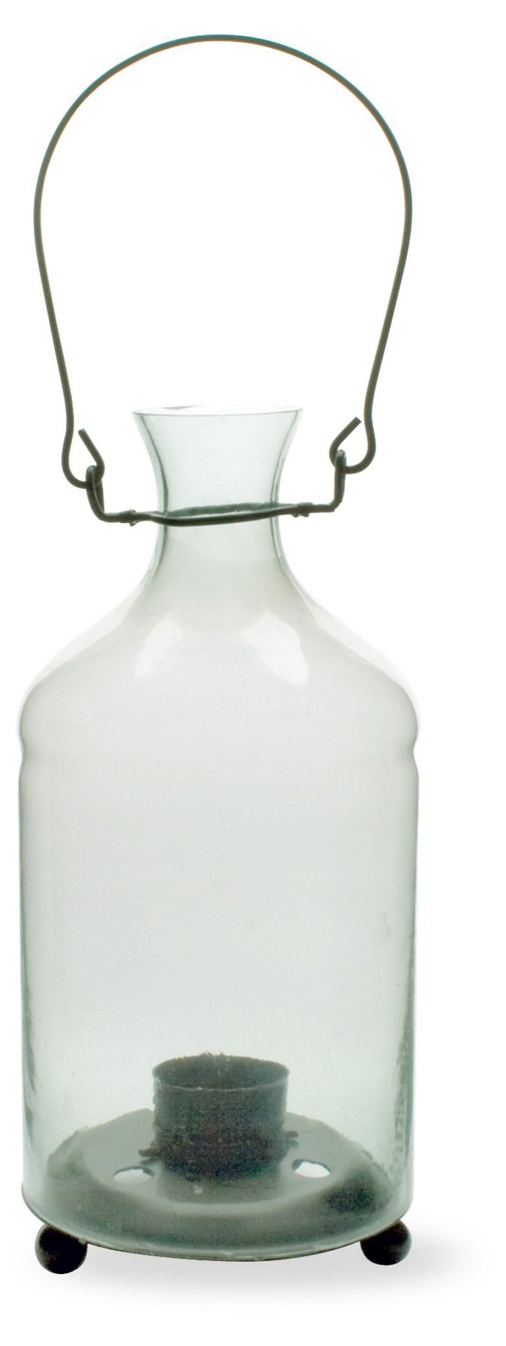 "10"" Hanging Candle Bottle"