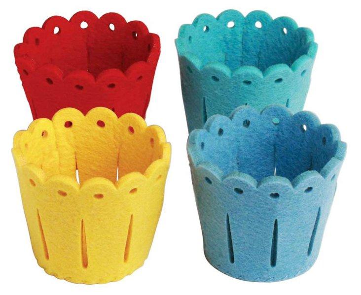 Asst of 12 Party Buckets