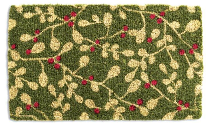 Mistletoe Mat, Green