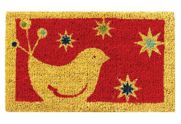 Whimsy Bird Doormat
